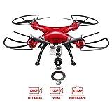 Syma X8HG Nuovo Prodotto 2.4GHz 6-Axis Gyro RC Quadcopter Drone Quadricottero Droni Con 8MP Fotocamera E New Modalità Altitudine Hold -Rosso