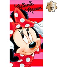 Toalla premium Minnie Disney algodon
