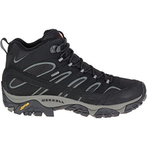 Merrell Moab 2 Mid Gtx, Chaussures de Randonnée Hautes Homme Noir (Black)