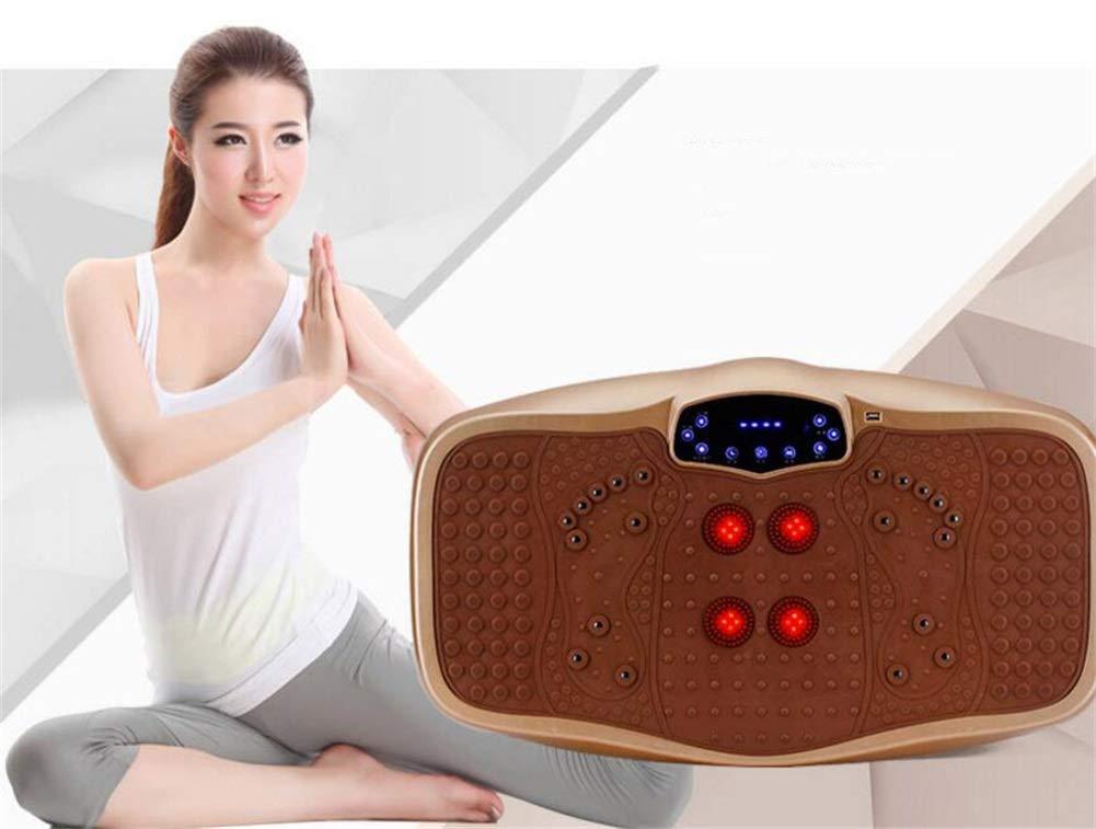 Rocket Vibration Machine,Massage Exercise Fitness Machine, 99 Levels Adjustable Vibration Speed