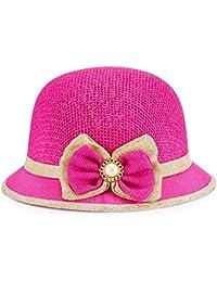 Easy Go Shopping Cappellino Traspirante per Bambini Cappellino Parasole  Cappuccio Vivace Versione del Cappello di Paglia 570069eae50d