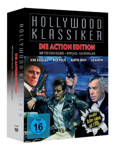 Hollywood Klassiker Vol. 2 - Action Edition: Der Tod eines Killers - Kopfjagd - California Kid [3 DVD Set] [Collector's Edition]