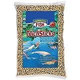 Stick di mangime di ottima qualità per pesci da laghetto, sacchetto da 7 l