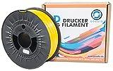 Goedis 3D Drucker Filament PETG 1,75 mm 1kg Rolle für 3D Drucker/Stifte vakuumverpackt (Gelb)