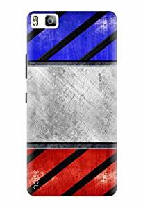 Noise Designer Printed Case / Cover for Huawei P8 Lite / Patterns & Ethnic / Criss Cross Design