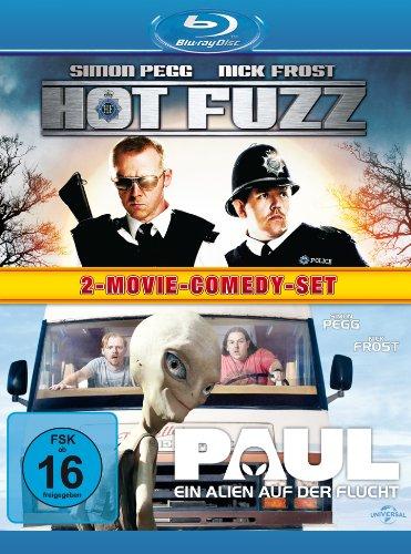 Bild von Hot Fuzz/Paul - Ein Alien auf der Flucht [Blu-ray]