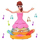 #6: Girl Dancing Princess Multi Function Music Doll LED Pet Electronic Robot Y1205 For Kids