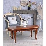 Wohnzimmertisch Antik Mahagoni Couchtisch Massives Holz Holztisch