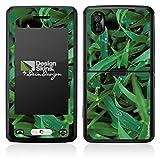 LG KP502 Cookie Case Skin Sticker aus Vinyl-Folie Aufkleber Grashalm Tautropfen Gras