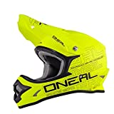 O'Neal 3 Series Motocross Enduro MTB Helm Flat gelb/schwarz 2018 Oneal: Größe: XL (61-62cm)