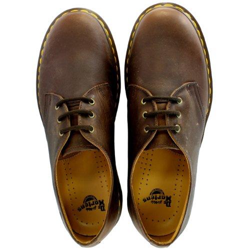 Dr. Martens 1461PW Chaussures de ville unisexe Noir