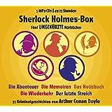 Sherlock Holmes Box - 55 Kriminalgeschichten von Arthur Conan Doyle (Gesamtlaufzeit 49:23 Stunden)