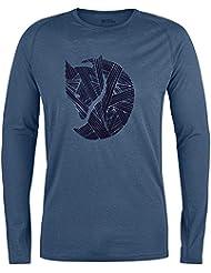 Fjällräven Abisko Trail T-Shirt Printed Long Sleeve Men - Langarmshirt