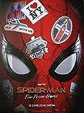 Spider Man Far from Home Affiche Cinéma Originale Pliée (Format 160x120 cm) Preventive A ...