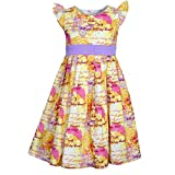 Bella Moda Girl Cotton Printed Dress