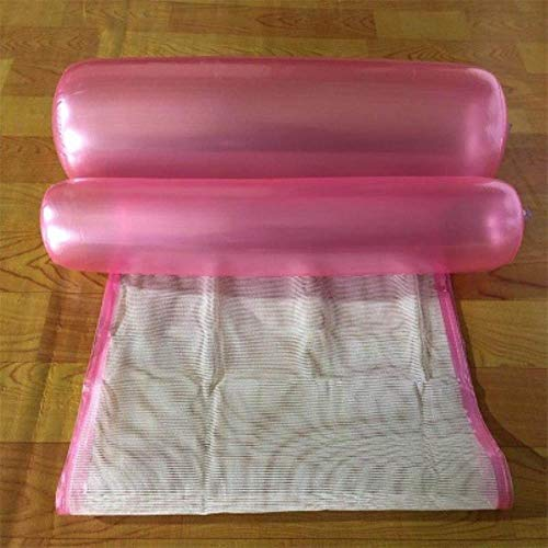 ool Float Bett 120cm * 70cm Wasser aufblasbare Lounge Sessel Float Schwimmen Float Hängematte Lounge Bett, klar ()