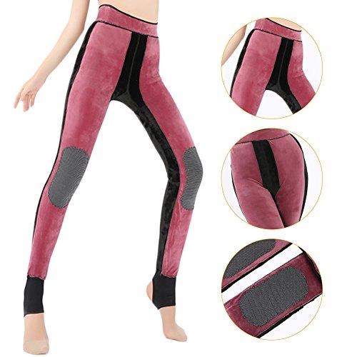 TwinkBling - Legging de sport - Femme Taille Unique red