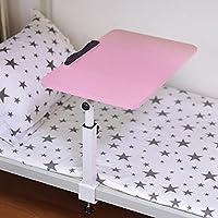 SBWYLT-Tavolo per PC portatile girevole elegante letto con tavolino di pigrone scrivania in camera da letto pieghevole b