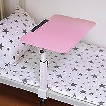 KHSKX Tavolo per PC portatile girevole elegante, letto con tavolino di pigrone, scrivania in camera da letto pieghevole , b