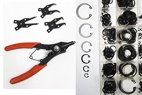 305-tlg Seegerring Sprengring Zange Sicherungzange mit INNEN Sicherung-s-Ringe