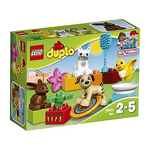 LEGO – 10838 – DUPLO -Jeu de Construction – Les Animaux de Compagnie