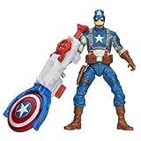 Captain America Super Soldier Gear Shield Blitz Captain America Figurine