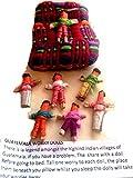 6 HANDMADE FAIRTRADE GUATEMALTEKISCHEN WORRY DOLLS Maya