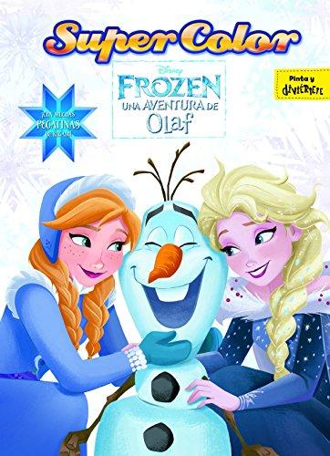 Frozen. Una aventura de Olaf. Supercolor: ¡Con muchas pegatinas de regalo! (Disney. Frozen) por Disney