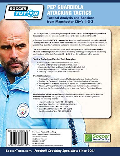 Zoom IMG-2 pep guardiola attacking tactics tactical
