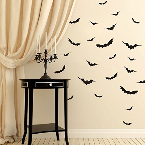 halloween-wall-decor-flying-bats-vinyl-gothic-art-sticker-party-room-decoration-x-largeblack