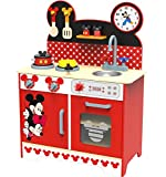 Minni Mouse Spielküche mit Zubehör Kinderküche Spielzeugküche Küche Holz Disney