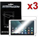 "3 Pack Huawei MediaPad T1 10.0(9.6"") Tablet Screen Protector - Fintie [Ultra-Clear] Protector de Pantalla para Huawei MediaPad T1 10.0(9.6"") Tablet"