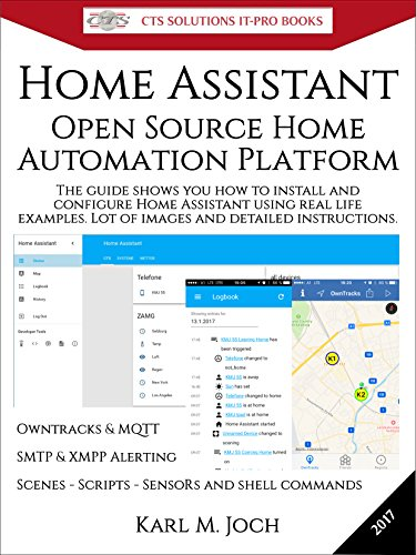 Home Assistant: Open Source Home Automation Platform for IoT (Internet of Things) & more (CTS SOLUTIONS IT-PRO E-Books Book 6) (English Edition)