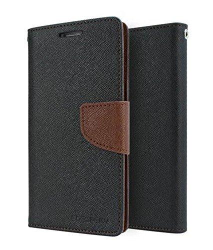 JMD Luxury Mercury Magnetic Lock Diary Wallet Style Flip Cover Case for Motorola Moto G2 - Brown