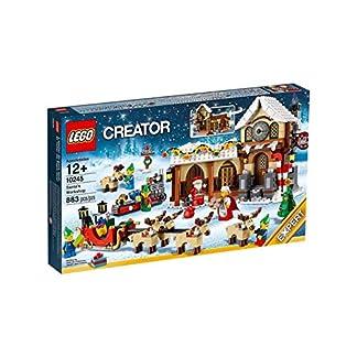 LEGO Creator – Playset con diseño El Taller de Papá Noel (10245)