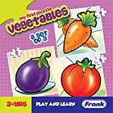 Frank - 10211 Vegetables Puzzle For 3 Year Old Kids And Above