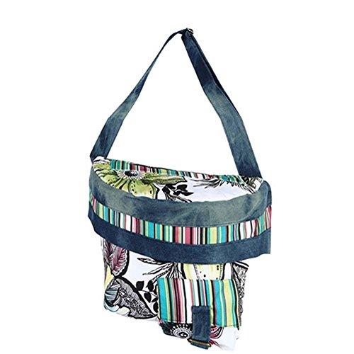 Messenger Bag Lady Fashion/Versione coreana del sacchetto di tela/gnocchi Ms.-A A