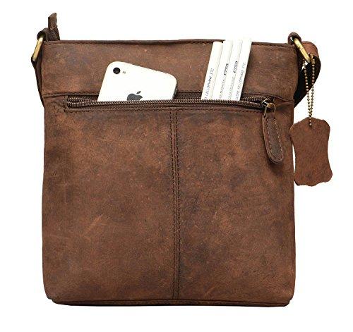 4ede81affd03 J WILSON London Designer Genuine Leather Shoulder Side Sing Handbag  Crossover Buffalo Hide Vintage Handmade Unisex