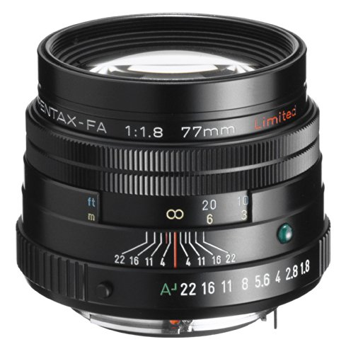 Preisvergleich Produktbild Pentax FA 77mm smc F1.8 Limited Objektiv schwarz