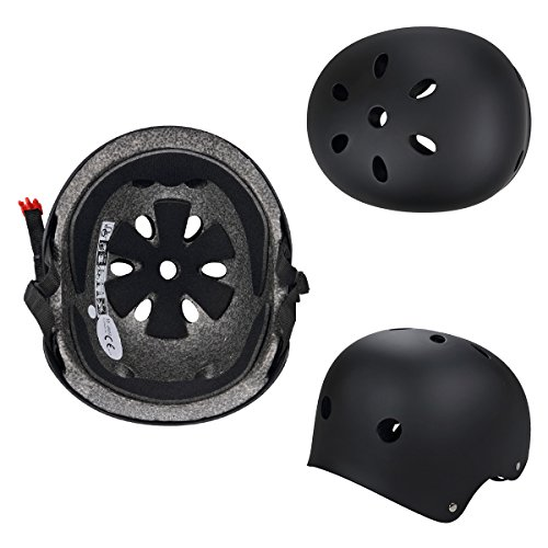 SymbolLife BMX / Skate / Motorroller Helm fahrradhelm motorroller helm Zyklus / Bike / Scooter / Skatehelm CE EN1078 TÜV - 7