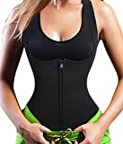 Sauna Vest Suit Neoprene Trainer Top Sweat Slimming Shirt for Weight Loss Workout (3XL)