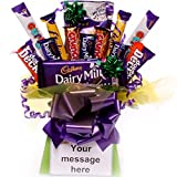 Treat Time Chocolate Bouquet Personalised, Cadbury's...