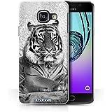 Coque de Stuff4 / Coque pour Samsung Galaxy A3 (2016) / Tigre Design / Animaux de zoo Collection