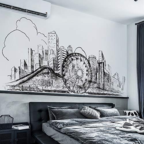 3D Tres Dimensiones Pegatina Pared Dormitorio De La