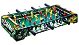 Sunshine Gifting Mid-sized Foosball, Mini Football, Table Soccer Game, 6 Rods