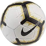Nike NK Strk, Pallone da Calcio Unisex Adulto, White/Black/Mtlc Vivid Gold/bl, 5