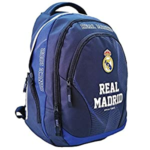51bUbl6Ue5L. SS300  - Real Madrid - Sac à Dos Basic 45 CM Haut de Gamme - 2 CPT