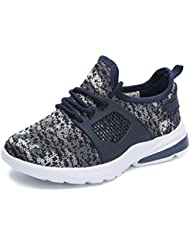 Hawkwell Chaussures de Sport Running Camouflage Sneakers Mixte Enfant
