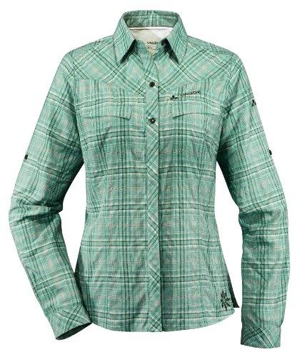 VAUDE Sarentino Chemise à manches longues pour femmes vert - Vert malachite
