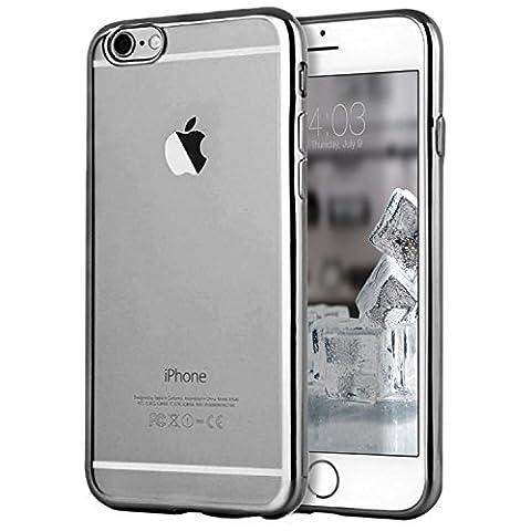 Coque iPhone 6/6s Plus, Transparent Clair Gel Silicone [Ultra Slim] + [Anti-Rayures] + [Anti-Choc] Bumper en TPU Souple Coque Clair Étui Housse pour Apple iPhone 6/6s Plus - 5.5 Pouces